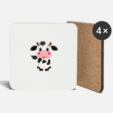 Sweet Cow sweet cow sweet cow gift animal pet farmer mu - Coasters