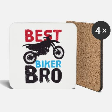 Racing Machine Bro friend biker motorcycle motorbikes motocross - Coasters