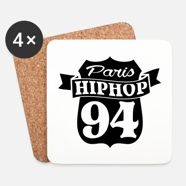 Hop dessin paris hiphop - Dessous de verre (lot de 4)