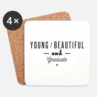 Fac young beautiful graduate - Dessous de verre (lot de 4)