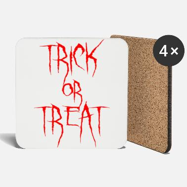 Treat Trick or treat - Coasters