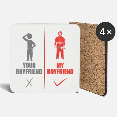 Firefighter firefighters - Coasters