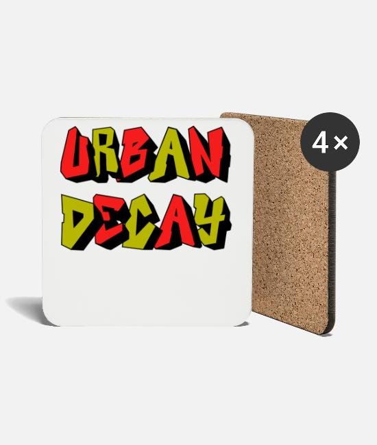 Rap Mugs & Drinkware - Urban decay - Coasters white