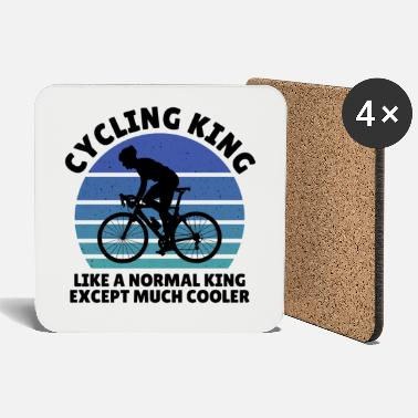 Race Car cycling king except much cooler - Coasters