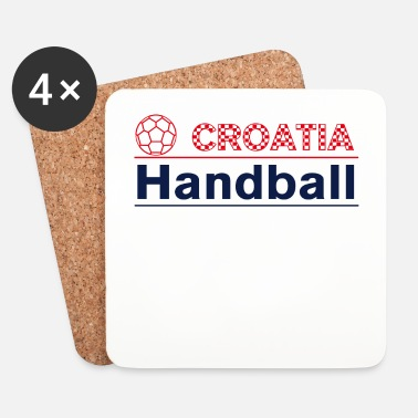 Handball Croatia Handball - Dessous de verre (lot de 4)