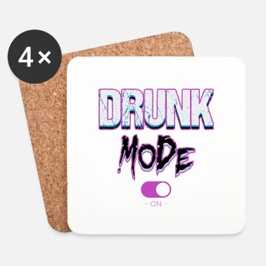 Whisky Drunk mode - Underlägg (4-pack)