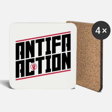Antifa Antifa action - Coasters