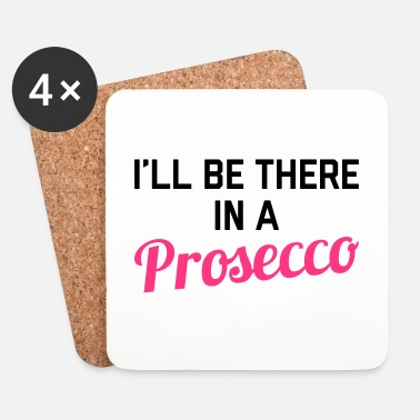 Humor In A Prosecco Funny Quote - Underlägg (4-pack)