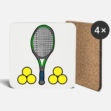 We love tennis - Coasters