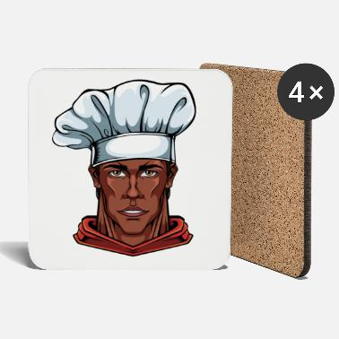 Chefs Chef chef chef cooks chef hat - Coasters