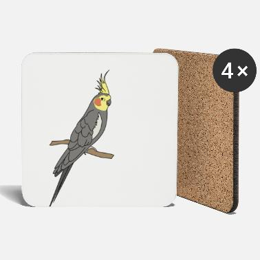 Gawkclothing Allegedly Ostrich, GawkClothing, Ornitologist, Vogelb - Coasters