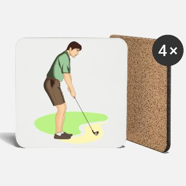 Shoes Golf | Golfing | Golfer | golf - Coasters