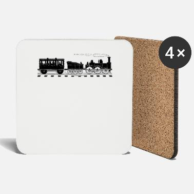 Tain Train Lover Gifts Vintage Railroad Train - Coasters