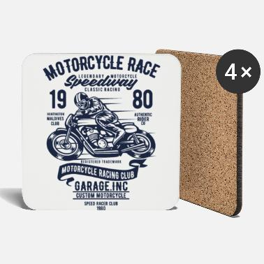 Motorcycle Race Motorcycles Race - Coasters