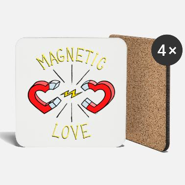 MAGNETIC LOVE © - Coasters
