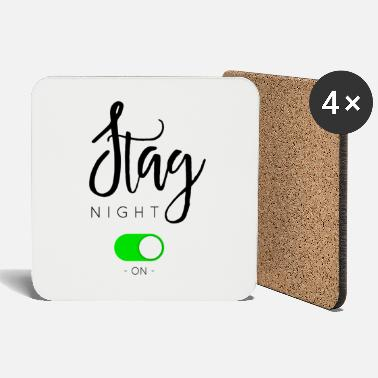 Night STAG NIGHT - Coasters
