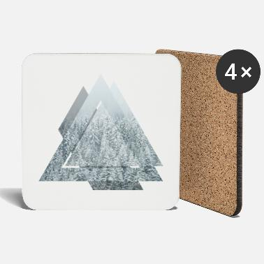 Triangle Snow Forrest - Coasters