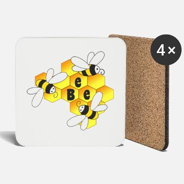Honey Bee Honey, bee, bees - Coasters