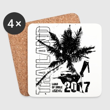Thailand 2017 - Coasters (set of 4)