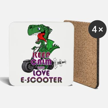 Keep Calm Escooter Dragon Electricscooter Keep Calm - Dessous de verre