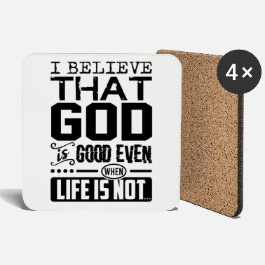 Shop Life Is Good Coasters online   Spreadshirt