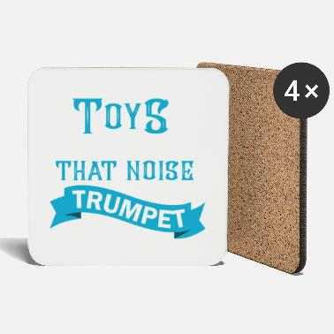 Baroque Trumpet Funny trumpet saying - trumpet - Coasters
