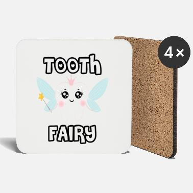 Dress Up Tooth Fairy | Magic tooth fairy | carnival - Coasters