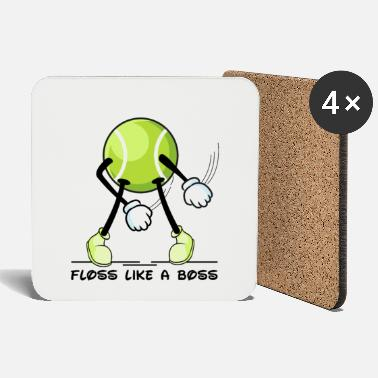 Teenager Floss Dance Tennis Ball Floss like a Boss - Dessous de verre