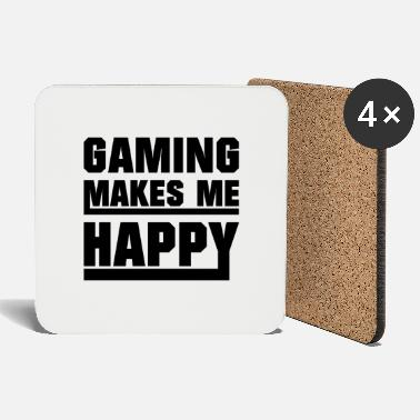 Nerd Gaming makes me happy - Coasters