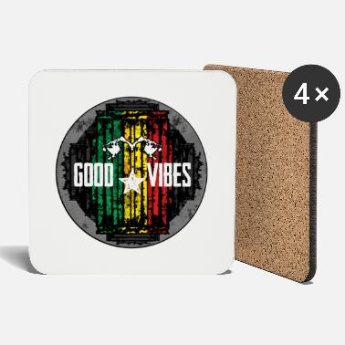 Music reggae vibes lion - Coasters