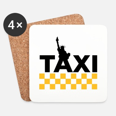 Transport New York Taxi - Dessous de verre (lot de 4)