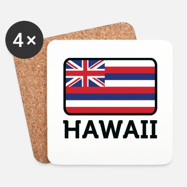 Hawaii National Flag of Hawaii - Underlägg (4-pack)