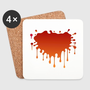 Blood spatter - Coasters (set of 4)