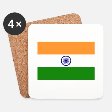 Intia National Flag of India - Lasinalustat (4 kpl:n setti)
