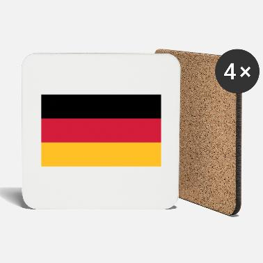 Population National flag of Germany - Coasters