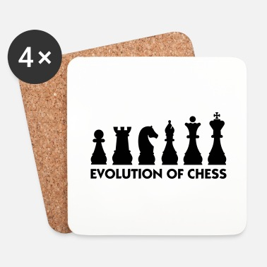 Shakki Evolution of Chess - Lasinalustat (4 kpl:n setti)