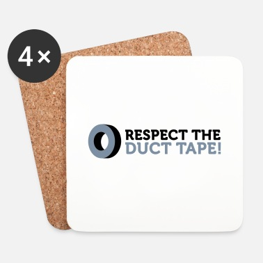 Band Respektera Duct Tape! - Underlägg (4-pack)