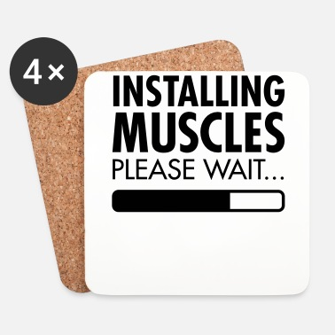 Lift Installing Muscles (Loading) - Dessous de verre (lot de 4)