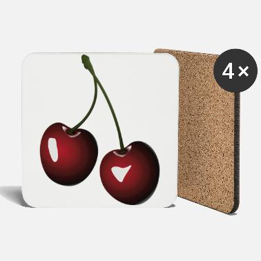 Cherry Cherry cherries - Coasters