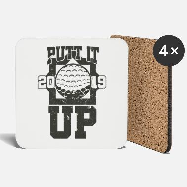 Golf Shoes Golf - Golfing - Golfers - Coasters