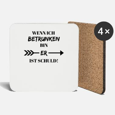 When Im Drunk When I'm Drunk Bin Party Bachelor Party - Coasters