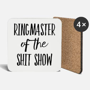 Spoke Genie Ringmaster of the Shit Show - Coasters