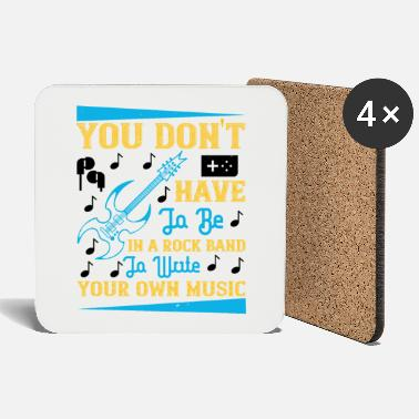 Dj You don't have to be in a rock band - Coasters