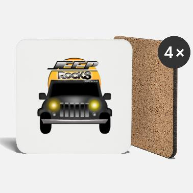 Streaker Car motive of Dropzodon ® - Coasters