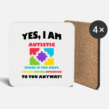 Autist Autistic Autism Awareness - Coasters