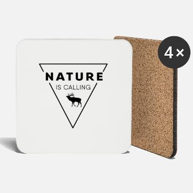 Nature Nature lover - Nature is calling - Coasters