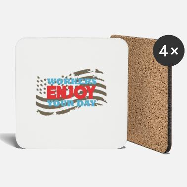 Labour Labor Day Free Work Holiday 1 May Gift - Coasters