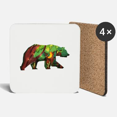 Brown Bear Brown bear. bear - Coasters