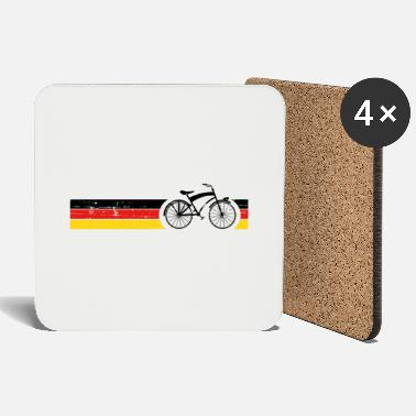 National Vélo National Colors National Germany Gift - Dessous de verre