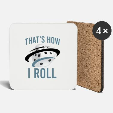 Roll The Dice Dice So I roll - Coasters